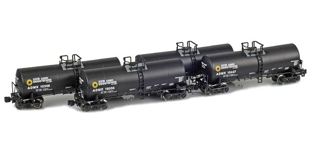AZL 903803-1 ADMX, ADM (Corn Sweeteners) 17,600 Gallon Tank Car Runner Pack