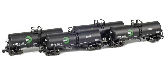 AZL 903804-1 Cargill CRGX 17,600 Gallon Tank Car Runner Pack
