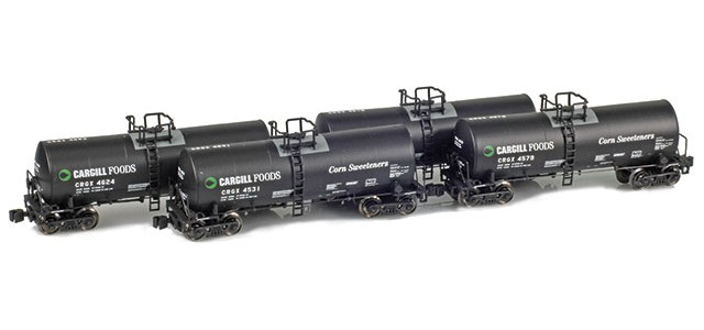 AZL 903806-1 Cargill Foods (Corn Sweeteners) CRGX 17,600 Gallon Tank Car Runner Pack