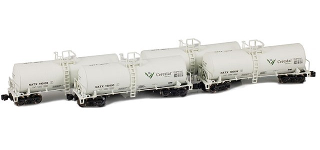 AZL 903815-1 NATX | Cerestar 17,600 Gallon Tank Car Runner Pack