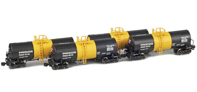 AZL 903818-1 17,600 Gallon Tank Cars | Procor | Molten Sulphur | Runner Pack