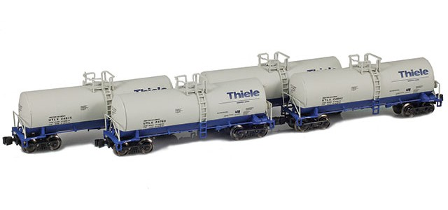 AZL 903820-1 UTLX | Thiele 17,600 Gallon Tank Car Runner Pack