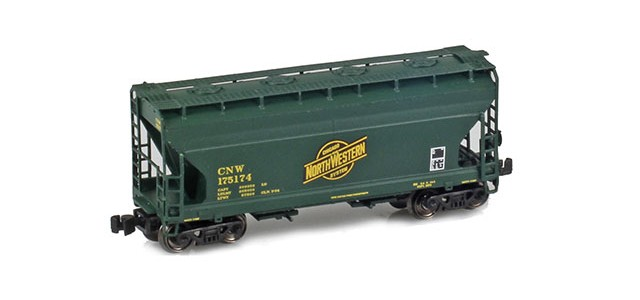AZL 903903-1 CNW 2-Bay Hopper #175174