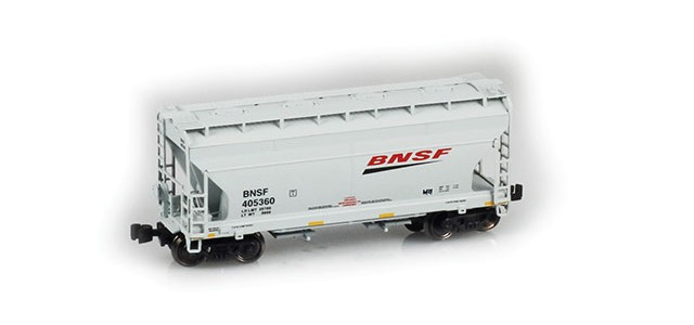 "AZL 903904-1 ACF 2-Bay Hopper BNSF ""Swoosh"" #405360"