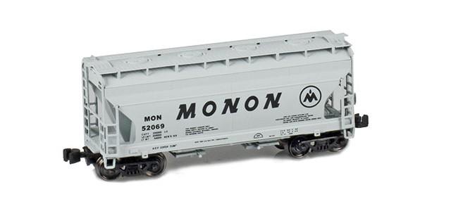 AZL 903906-1 ACF 2-Bay Hopper Monon #52069