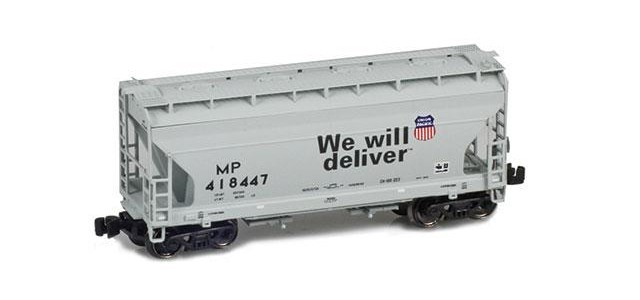 "AZL 903911-1 ACF 2-Bay Hopper | UP ""We Will Deliver"" 