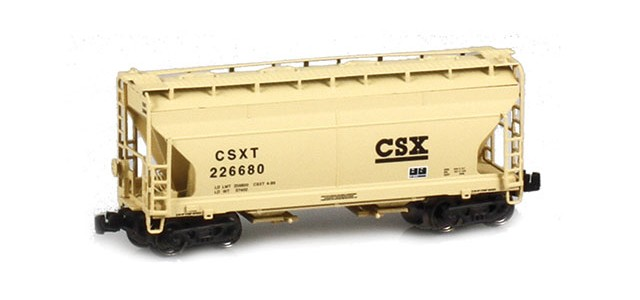 AZL 903909-3 ACF 2-Bay Hopper CSX #226680