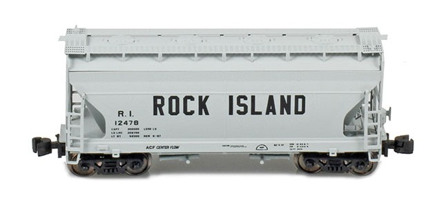 AZL 903910-2 ACF 2-Bay Hopper Rock Island #12049