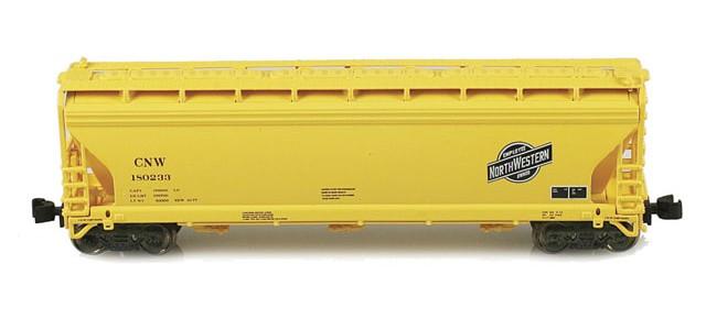 AZL 90319-1 ACF 3-Bay Hopper CNW | 4-Car Set