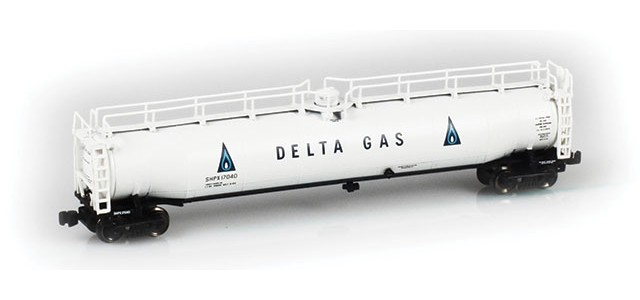 AZL 91337-1 Delta Gas SHPX LPG Tank Car Single #17040