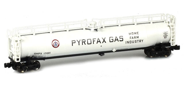 AZL 91340-1 Pyrofax Gas SHPX LPG Tank Car Single #17001