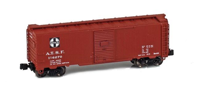AZL 904300-1 ATSF 40' AAR Boxcar #136270