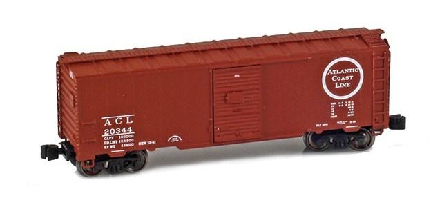 AZL 904301-1 Atlantic Coast Line 40' AAR Boxcar #20344