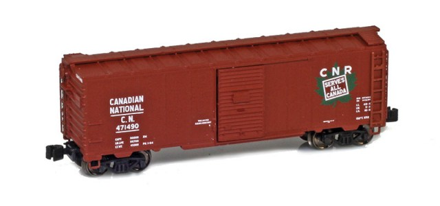 AZL 904303-1 Canadian National 40' AAR Boxcar #471490