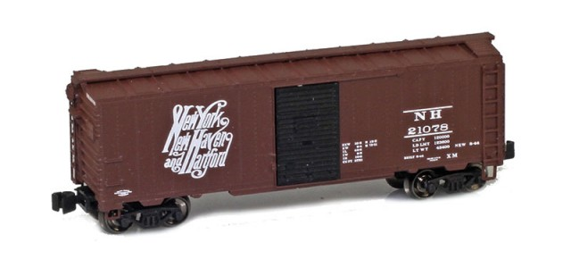 AZL 904308-1 New Haven 1937 40' AAR Boxcar #21078