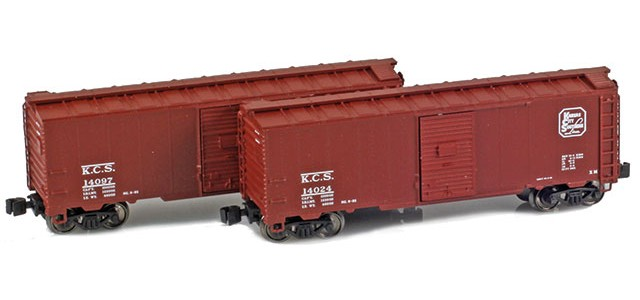 AZL 904376-1 KCS 40' AAR Boxcar | 2-Car Set