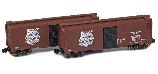 AZL 904378-1 New Haven 1937 40' AAR Boxcar | 2-Car Set
