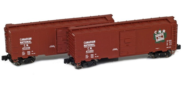 AZL 904373-1 Canadian National 40' AAR Boxcar | 2-Car Set