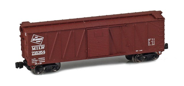 AZL 903102-1 40' Milwaukee Outside Braced Boxcar #715354