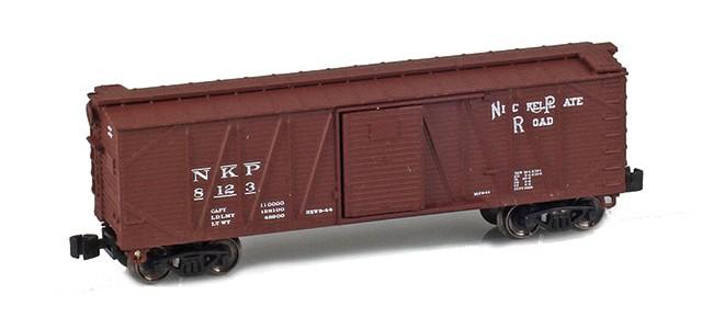 AZL 903106-1 40' Nickel Plate Outside Braced Boxcar #8123