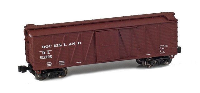 AZL 903109-1 40' Rock Island Outside Braced Boxcar #157652