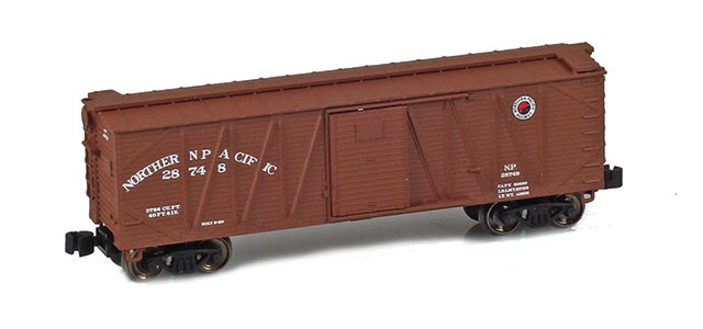 AZL 903110-1 40' NP Outside Braced Boxcar #28748