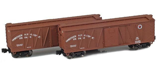 AZL 903180-1 40' NP Outside Braced Boxcar | 2-Car Set