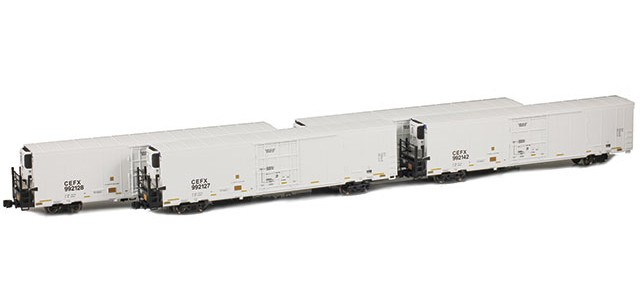 AZL 904007-1 Trinity 64' Reefer CEFX 4-Pack | Set 1