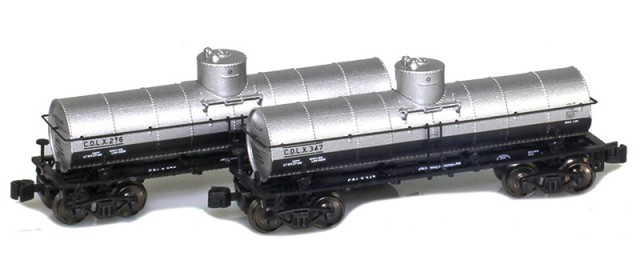 AZL 915038-1 California Dispatch 8,000 Gallon Tank Car 2-Pack