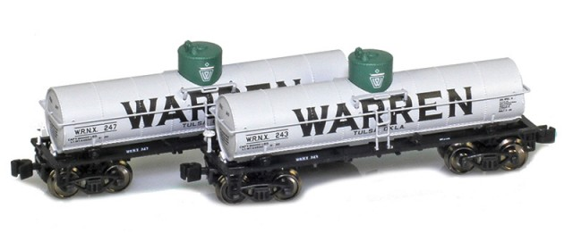 AZL 915032-1 Warren WRNX 8,000 Gallon Tank Car 2-Pack