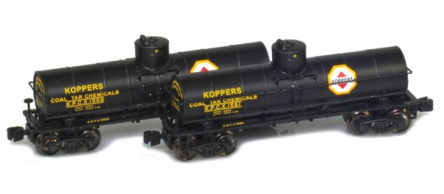 AZL 915033-1 Koppers 8,000 Gallon Tank Car 2-Pack