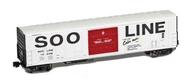 AZL 914808-1 SOO Line R-70-20 Reefer #10038