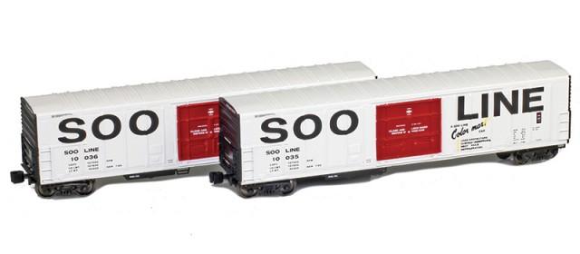 AZL 914838-1 SOO Line R-70-20 Reefers 2-Pack