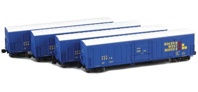 AZL 904804-1 R-70-20 Golden West (VCY) Reefer 4-Pack