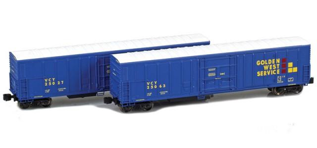 AZL 914834-1 R-70-20 Golden West (VCY) Reefer 2-Pack