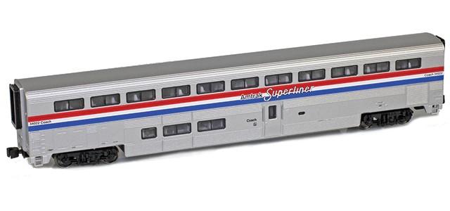 AZL 72001-1 Amtrak Superliner I Coach Phase III #34022