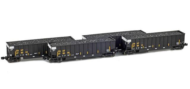 AZL 90112-1 BethGon Coalporter CSXT (Black) | Set 1