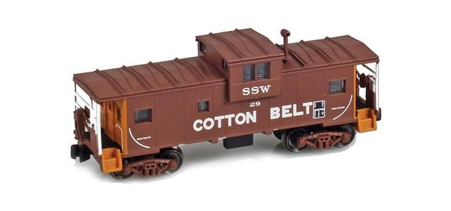 AZL 921003-1 Cotton Belt Wide Vision Caboose #20