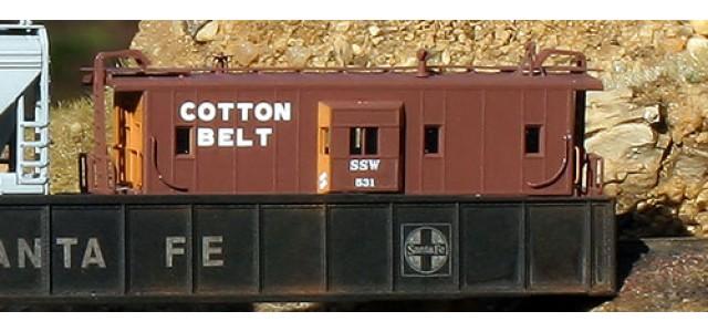 AZL 92001-1 C-30-5 Caboose SSW Cotton 2 | #77