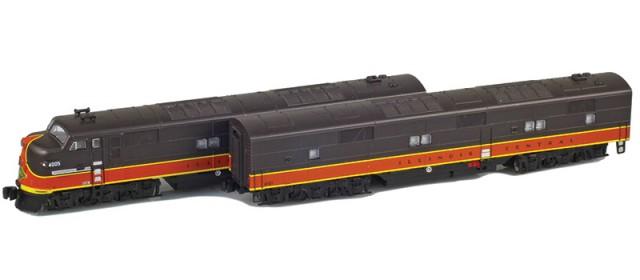 AZL 64616-1 Illinois Central EMD E7A-B Set | 4005, 4101