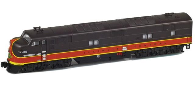 AZL 64616-2 Illinois Central EMD E7A #4010