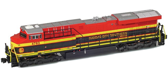 AZL 62406-1 Kansas City Southern de Mexico ES44AC #4763
