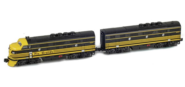 AZL 62909-1 D&RGW F3 A-B Set | #552A, #552B