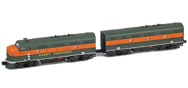 AZL 62912-2 Great Northern F3 A-B Set | #356A, #356B