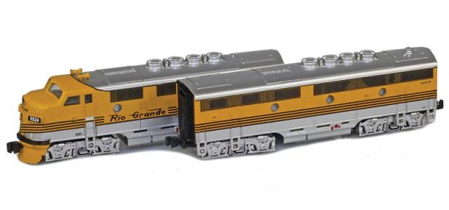 AZL 62915-1 D&RGW F3 A-B Set | California Zephyr Set | #5521, #5521