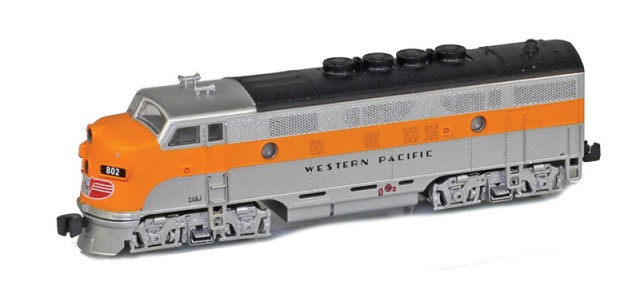 AZL 62916-2 Western Pacific F3 A | California Zephyr Single | #802A