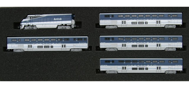 AZL 7002-1 F59PHI Amtrak West Full Set | Surfliner Cars #452
