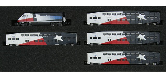 AZL 7006-1 F59PHI Dallas TRE Full Set | Bombardier Cars #569