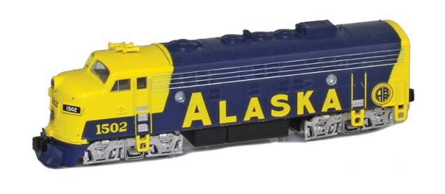 AZL 63011-2 Alaska RR EMD F7A #1502