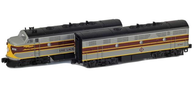 AZL 63012-1 Erie Lackawanna  F7 A-B Set